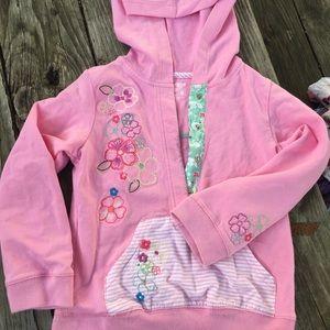 Girls cotton hoodie